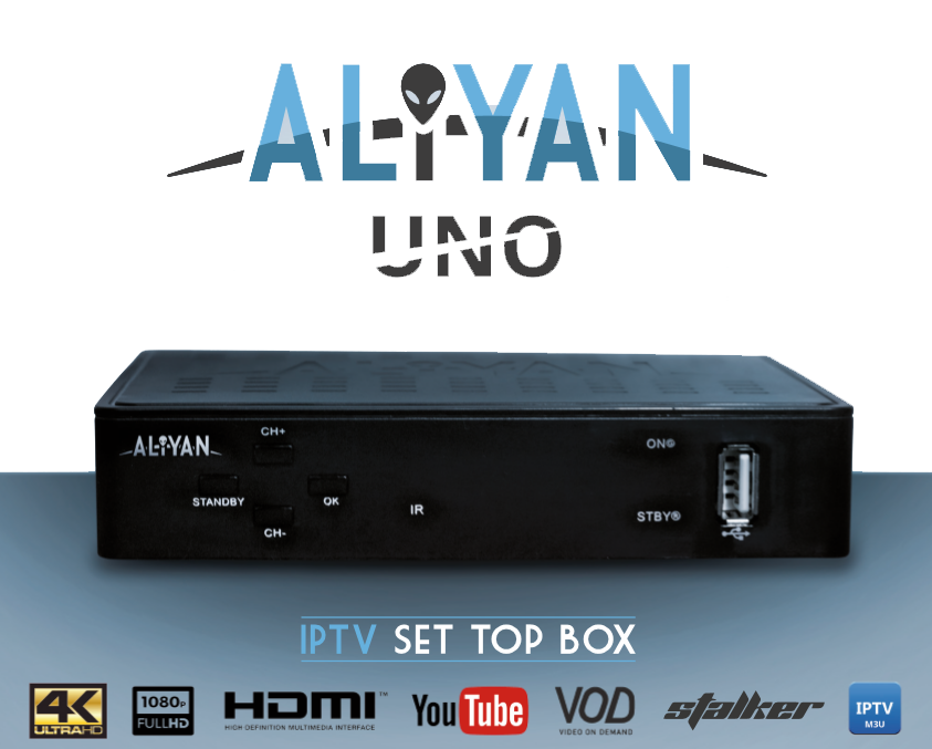 Aliyan UNO IPTV BOX – The number one IPTV provider in the world